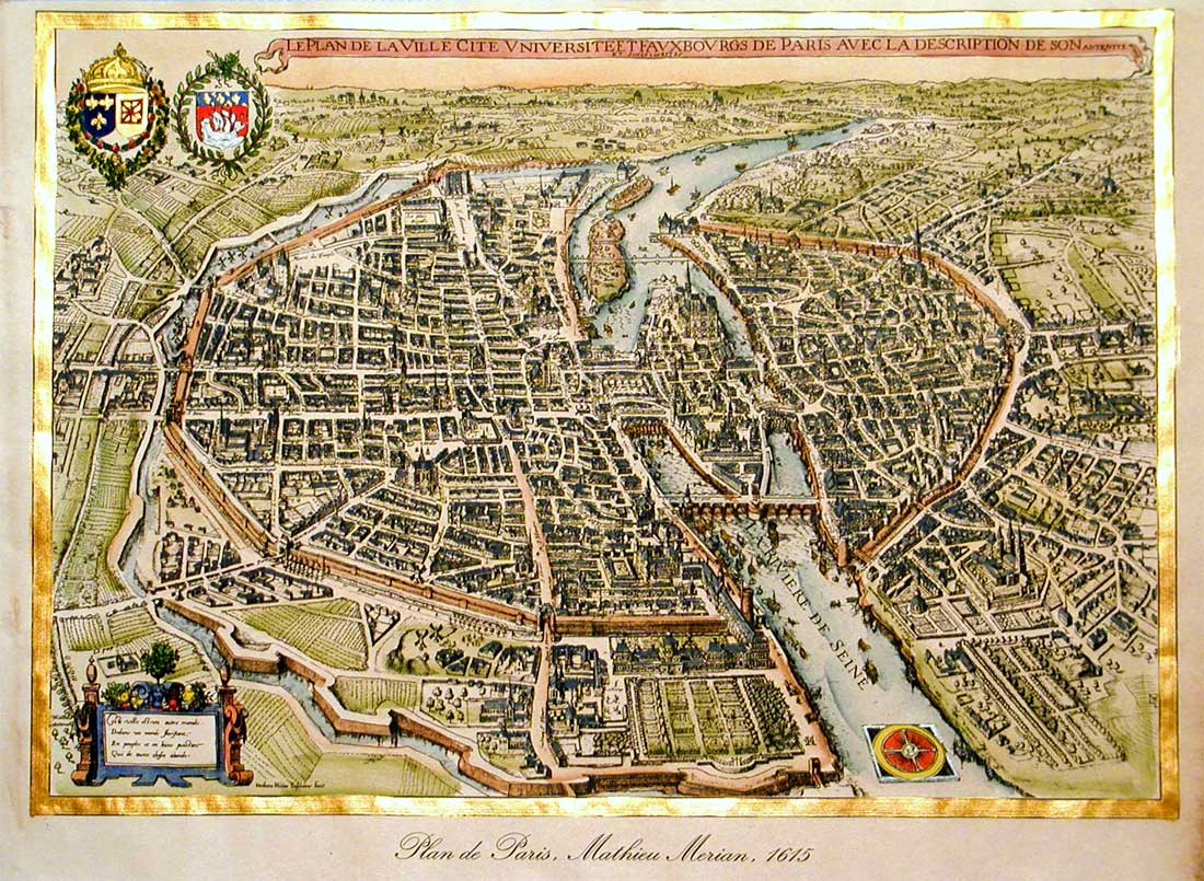 Cities Of The World Art Prints Of Florence Antique Maps